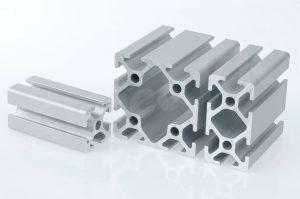 aluminiowe profile z modułu 20 z rowkiem 5 kompatybilne z item i bosch