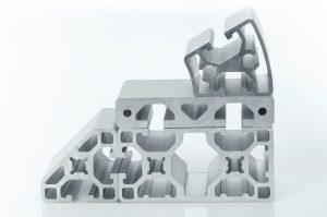 profile aluminiowe seria 40 z rowkiem 8 kompatybilne z bosch i item